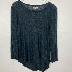 Madewell light weight knit 100% linen top